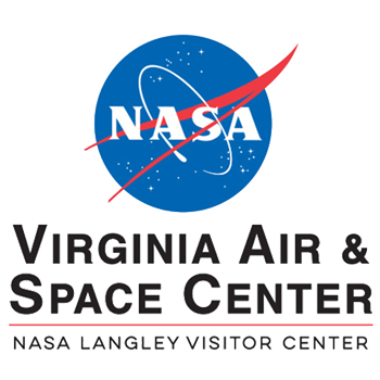 Image result for virginia air and space center logo